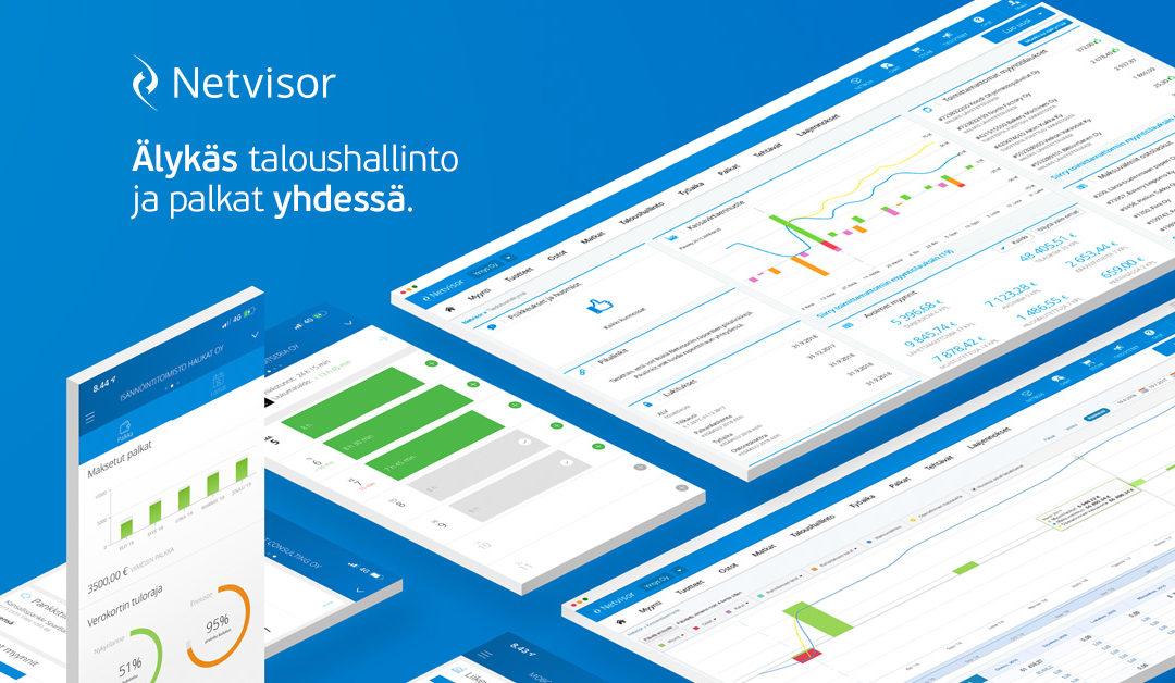Tilitoimiston digiloikka – tie Netvisor Premium kumppaniksi